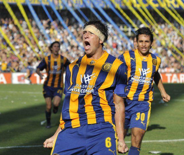 Braghieri convirtió un gol en un clásico, en 2010.