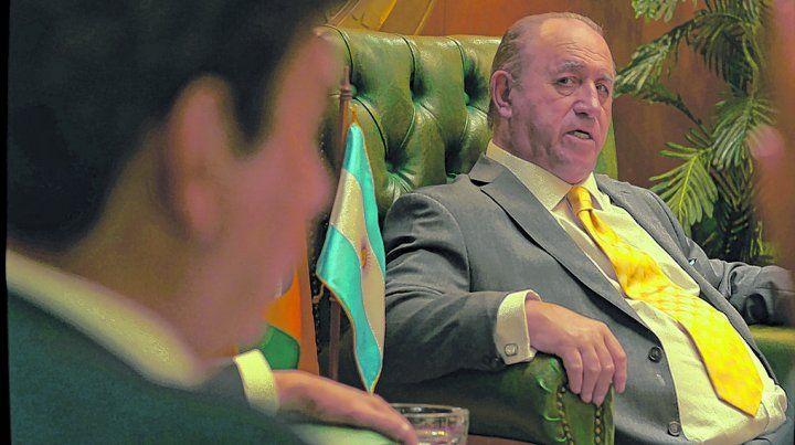 Don Julio. Margani se transformó en Grondona bajo la dirección del premiado Armando Bo.
