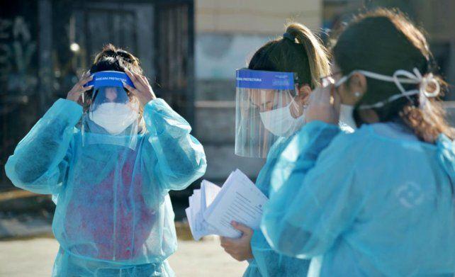 Se confirmaron 24 muertes y 840 contagios por coronavirus en el país