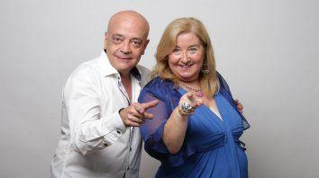 Christian Valci y Marita Vitta.
