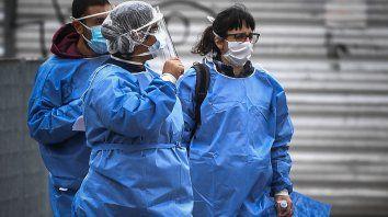 Los casos de Covid-19 siguen creciendo en Caba y el área metropolitana de Buenos Aires.