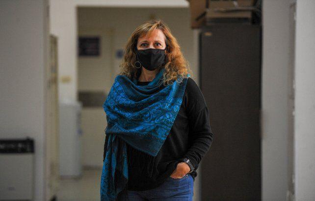Patricia Mazzei forma parte de la red de seguimientos de pacientes de coronavirus. El trato con ellos es diario.
