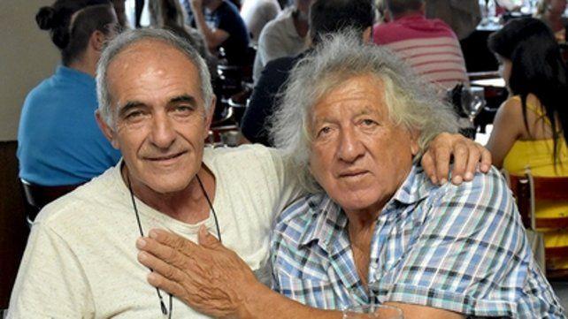 El Bocha y el Trinche. (Gentileza Salvador Hamoui).