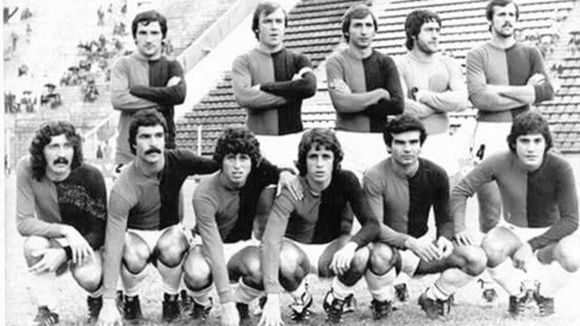 1977. En Colón apenas jugó.