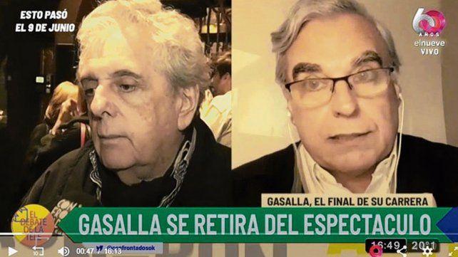 En foco. El retiro de Gasalla se conoció en Canal 9 y ya lo desmintió.