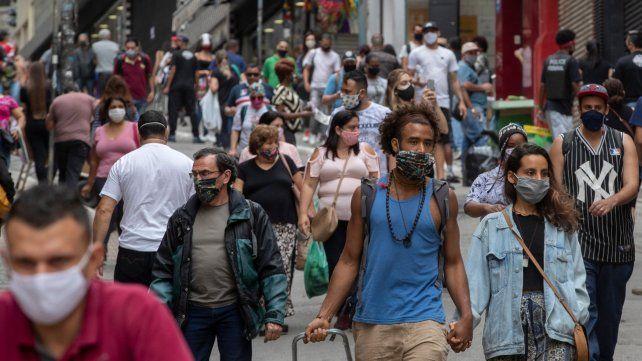 Brasil contó ayer otros 1.500 decesos y suma más de 90 mil en la pandemia
