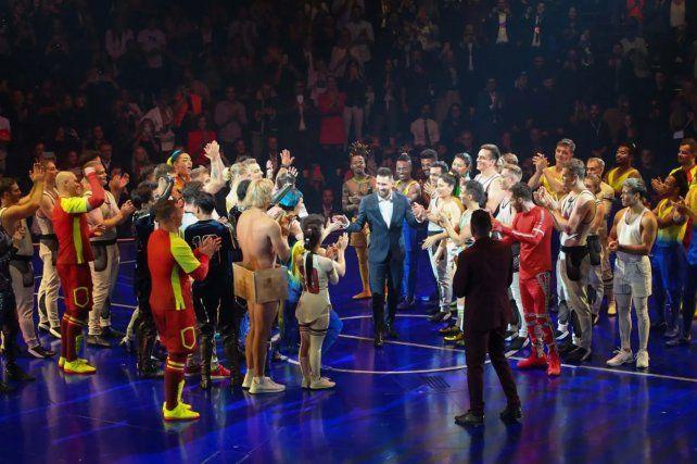 El Cirque du Soleil comparte un adelanto virtual de Messi10