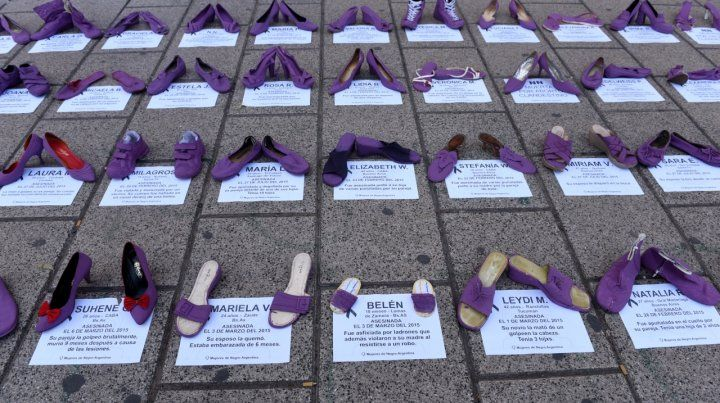 La memoria. Familiares de las víctimas pidieron justicia en Tribunales a través de una intervención.