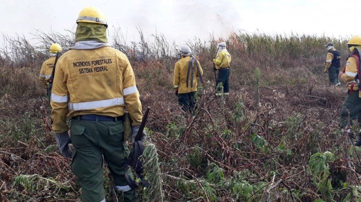 Tras varios días de tregua, el humo de las islas volvió a contaminar el aire de Rosario