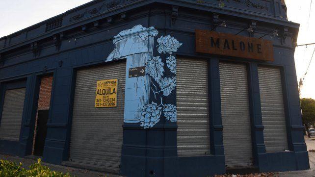 El bar Malone se habia inaugurado a mediados de 2019.