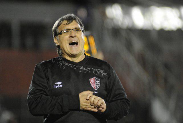 El DT Gerardo Martino.