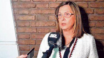 Explicación. Según la funcionaria, la provincia está planteando un corrimiento temporario de la administración del grupo.