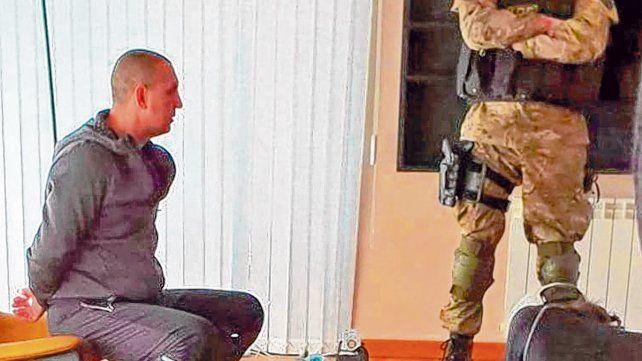 Ibarlucea. Pillín Bracamonte fue detenido ayer a la mañana en su casa del country Los Alamos.