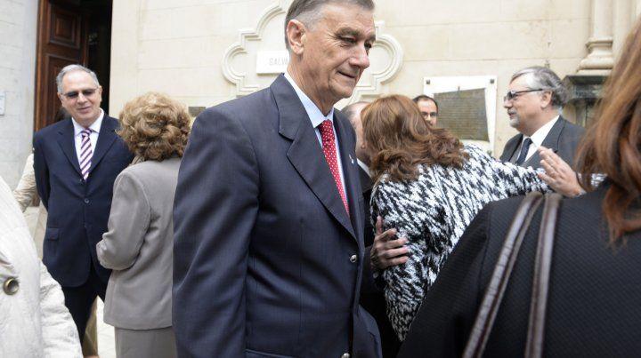 El exgobernador Hermes Binner está internado en Casilda.