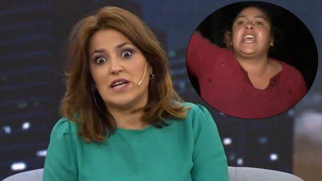 Maju Lozano levantó un móvil por una pelea entre mujeres
