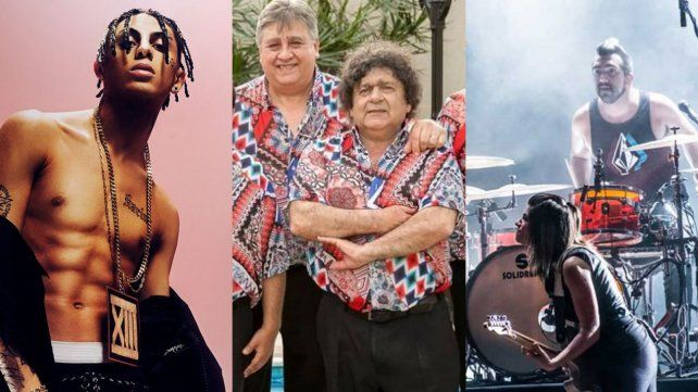 Un festival online de 24 horas tendrá rock, trap, pop y hasta cumbia con Los Palmeras