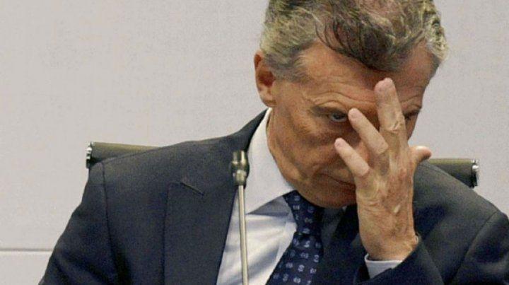 El ex presidente Mauricio Macri.
