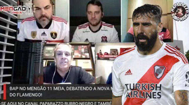 Un directivo de Flamengo se despachó con todo contra Lucas Pratto.