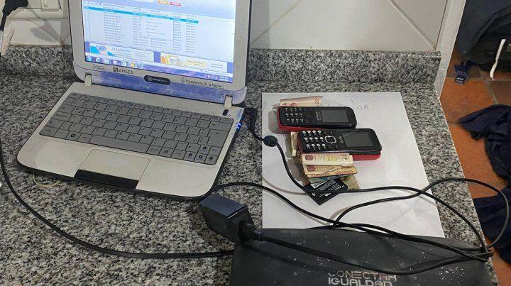 Ocho detenidos en Roldán por estafas telefónicas