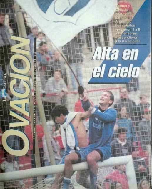 La tapa de Ovación, dedicada al Albo, tras vencer 1-0 a Defensores de Belgrano en Newell