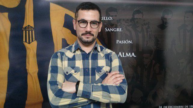 De Central. Pablo Facciuto es vocal suplente de la actual comisión directiva.