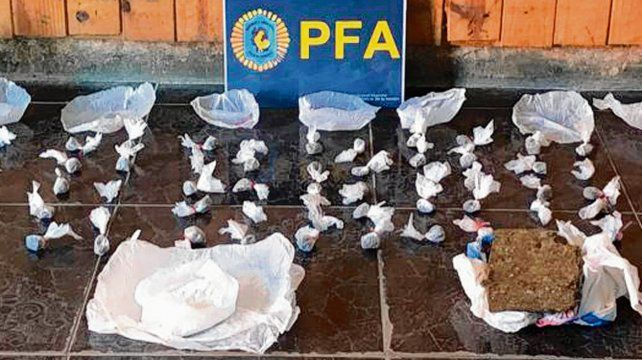 secuestro. Los allanamientos fueron realizados por la Policía Federal.