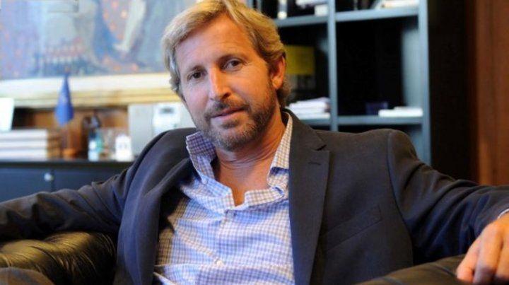 El exministro del Interior Rogelio Frigerio involucrado en el polémico partido de pádel en Tigre.