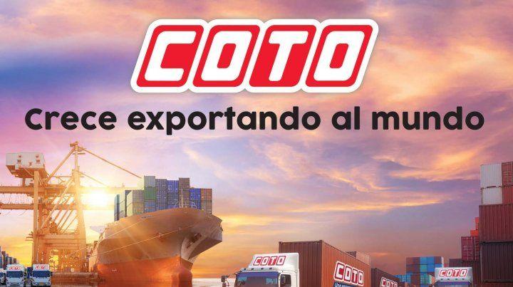 Coto. Una empresa que exporta, un país que crece