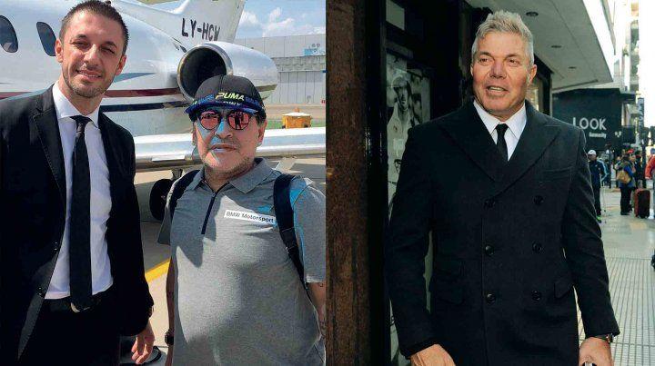 Maradona cruzó a Burlando con un video irónico y duro