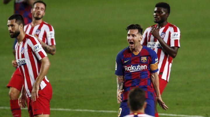 Messi se metió en el selecto grupo de los 700 goles