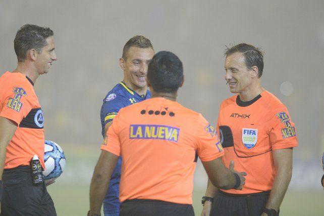 Ruben jugó los últimos seis meses en Central, tras su regreso de Atlético Paranaense.