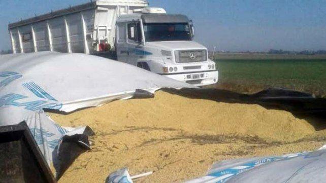 Las entidades del campo alertaron sobre casos de vandalismo a silos bolsa.
