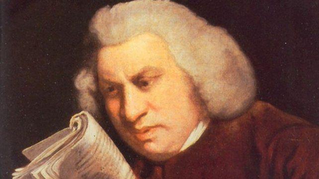 El escritor británico Samuel Johnson (1709-1784).