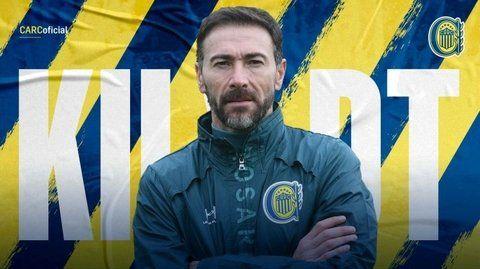 El Kily González será hoy formalmente el técnico de Central.