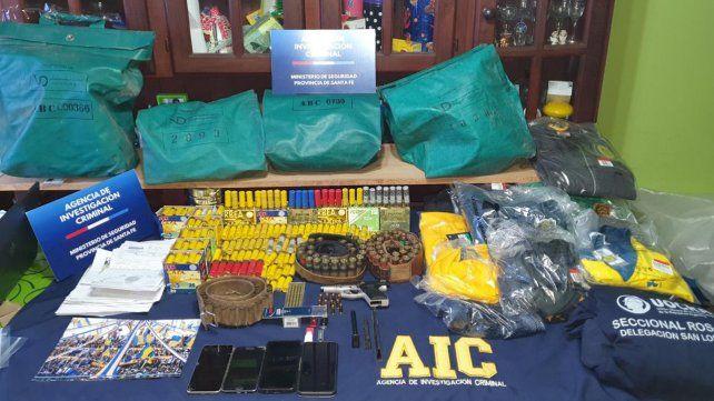 Detuvieron a un lugarteniente de Pillín Bracamonte en un allanamiento en la zona sur