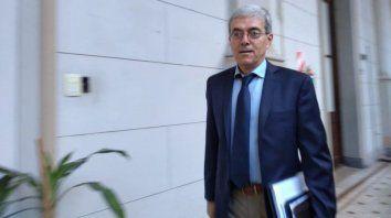 Ministro de Economía, Walter Agosto.