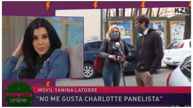 Charlotte Caniggia y Yanina Latorre, una pelea de panelistas