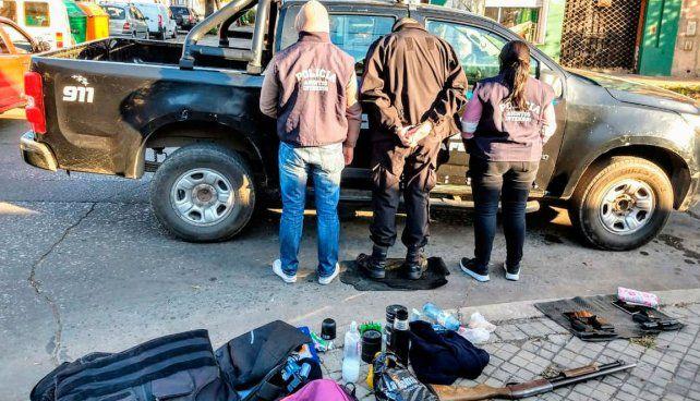 Un policía fue detenido cuando estaba patrullando por supuestos vínculos con narcos