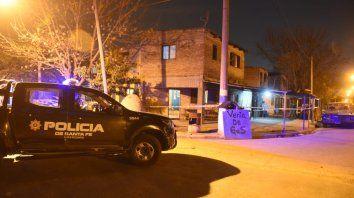 El tiroteo se produjo anoche en pleno barrio Ludueña.