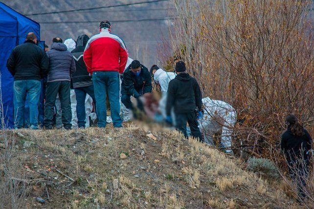 Hallazgo. El cuerpo de Rodríguez estaba enterrado en el patio de la casa de un detenido por el crimen.