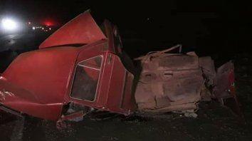 Dos jóvenes murieron en un choque cerca de la localidad de San Vicente