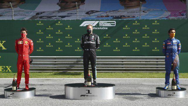 Bottas ganó en Austria la carrera de apertura de la temporada de la Fórmula 1