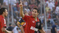 Juan Manuel Insaurralde vistió la rojinegra entre 2008 y 2010.