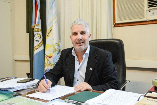 El intendente de Villa Constitución, Jorge Berti.