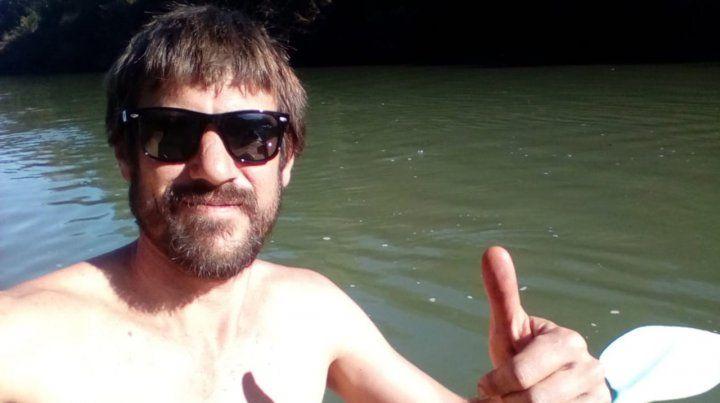 Roberto El toba ya adoptó El Soberbio y las aguas del río Uruguay.