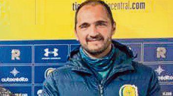 Diego Zuljan, flamante entrenador de arqueros canalla.