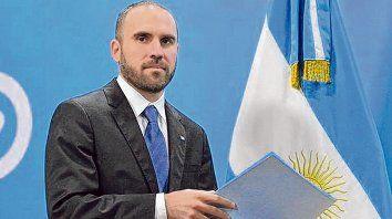 Avance. El ministro de Economía, Martín Guzmán, mejoró la oferta argentina y entusiasmó al mercado.