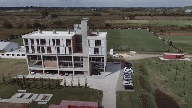 El Centro de Entrenamiento Jorge Griffa de Bella Vista