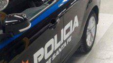 El policía agredió a su compañera de patrullaje y luego quedó detenido.