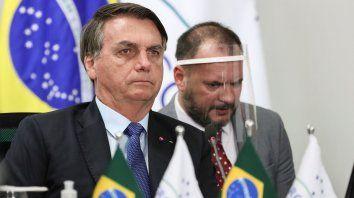 El presidente de Brasuil, Jair Bolsonaro, dijo estar en buen estado.